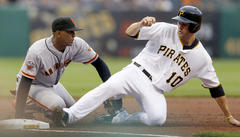 san francisco giants lose to pittsburgh pirates 12-8