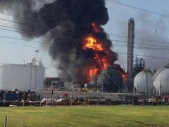 One dead and more than 30 injured in chemical plant explosion