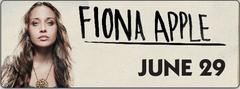 fiona apple at the ives concert park, friday night june 29th