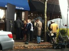 jason bateman film to shoot in rye sunday