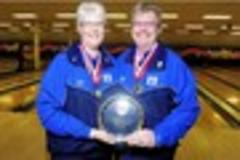 first married couple ever to  play ten pin bowling for england