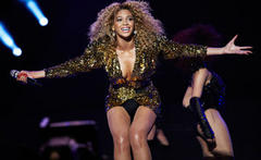 Beyoncé rakes in over £1 million a gig at London's O2 Arena